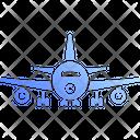 Airplane Aeroplane Flight Icon