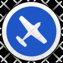 Airplane Airbus Area Icon