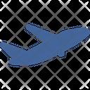Plane Flight Travel Icon