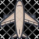 Airplane Passenger Plane Icon