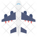 Plane Airplane Airline Icon