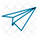 Airplane Email Message Icon