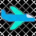 Airplane Flight Aeroplane Icon