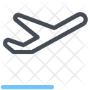 Airplane Departure Flight Icon
