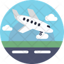 Airport Airplane Flight Icon