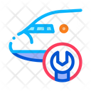 Airplane Web Business Icon
