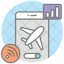 Airplane Mode Flight Mode Travel Mode Icon