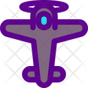 Airplane Old Icon