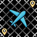 Airport Terminal Plane Icon