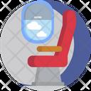Airplane Seat Icon