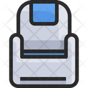 Airplane Seats Sofa Couch Icon