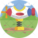 Airplane Swing Icon