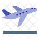 Airplane Takeoff Take Icon