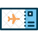 Airplane Ticket Plane Ticket Flight Ticket Icon