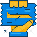 Airplane Ticket Icon