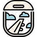 Airplane Window Icon