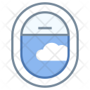 Airplane window seat Icon