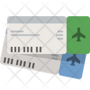 Ticket Flight Ticket Plane Ticket Icon