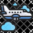 Airplanplane Aircraft Air Vehicle Icon
