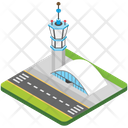 Airport Airport Tower Control Tower Icon
