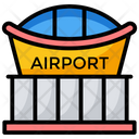 Station Airport Airport Entrance Icon