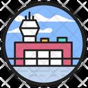 Airport Aerodrome Airfield Icon
