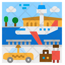 Airport Air Traffic Icon