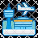 Airport Tourism Travel Icon