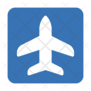 Airport Sign Board Icon
