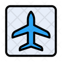 Airport Board Banner Icon