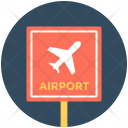 Airport Signboard Info Icon