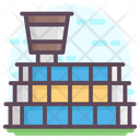 Airport Air Terminal Airport Building Icon
