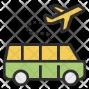Airport Shuttle Car Icon