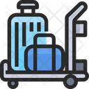 Airport Cart Icon