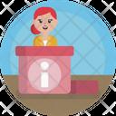 Airport Customer Care Icon