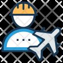 Airport Engineering Technician Icon