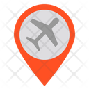 Airport Location Place Icon