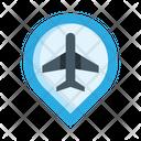 Airport Location Icon
