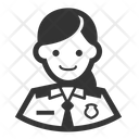 Airport Police Avatar Cop Icon