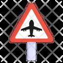 Airport Road Runway Road Post Icon