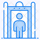 Airport Scanning Door Scanning Body Scanner Icon