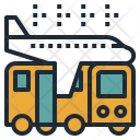 Airport Shuttle Bus Icon