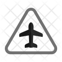 Airport Sign Traffic Icon