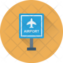 Airport Sign Transport Icon