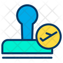 Stamp Airport Pass Icon