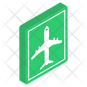 Airport Symbol Airport Sign Airplane Symbol Icon