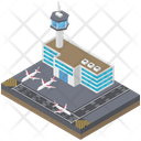 Airport Terminal Icon