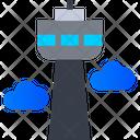 Airport Tower Air Traffic Control Air Traffic Icon