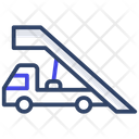Airport Truck Gangway Truck Vehicle Icon
