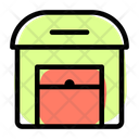 Airport Warehouse Open Icon